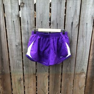 Nike Women's Purple Athletic Shorts